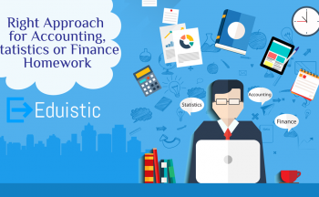 Right Approach for Accounting, Statistics or Finance Homework